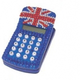 Union Jack Note Holder Calculator - 500pcs Brand New A+ Stock