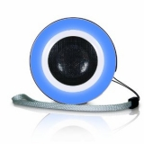 i.Sound ISOUND-1605 Round Mini Speaker (Blue)