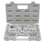 220 - 40PC Tap and Die Sets in Blow Storage Cases - Brand New