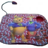 5 Winnie the Pooh Laptop Trays/Tables with Drinks Holder & Light