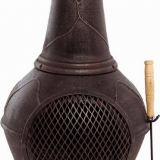 18 x Medium Cast Iron Chimenea With Cooking Grill Brand New +