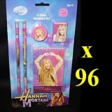 Disney Hannah Montana 5-Piece Stationery Set - BNIB (96 Sets)