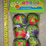Unique Industries / Party Pack of 6 Splash Balls