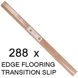 288 x Edge Transition Flooring Threshold - 5 x 91cm