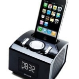 In-Tune PF iPod Clock Radio Docking Station - Black (28 Units)