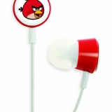 Gear 4 Angry Birds 3.5mm In Ear Stereo Headphones - Red HAB001