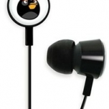Gear 4 Angry Birds 3.5mm In Ear Stereo Headphones - Black HAB004