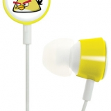 Gear 4 Angry Birds 3.5mm In Ear Stereo Headphones - Yellow HAB006