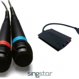 SingStar Wired Microphone Bundles: 2 Mics & 1 Adapter (200 Sets)
