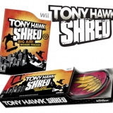 Tony Hawk Shred Game & Balance Board Bundle for Nintendo Wii