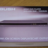 Bush HDMI DVD Player DVD3081 - Titanium