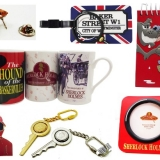 Mixed Sherlock Holmes Novelty Items and Collectables (200 Units)