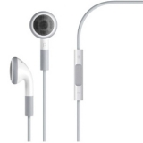 White iPhone 4 4S Earphones Headphones With Mic Remote and Volume