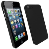 For Iphone 5 Hybrid Black Gel Case Cover Skin Jacket Protector