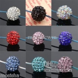 Beautiful, high quality Shamballa beads with 14 colours - perfect