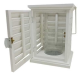 Colony Shutter Lanterns with Glass (8 Units)