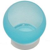 Colony Frosted Blue Candle Holders (36 Units)