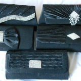Bridal Evening Party Purse Clutch Bag