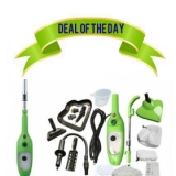 Deal of the Day! 5-in-1 Steam Mop / Handheld Steamer & Accessory